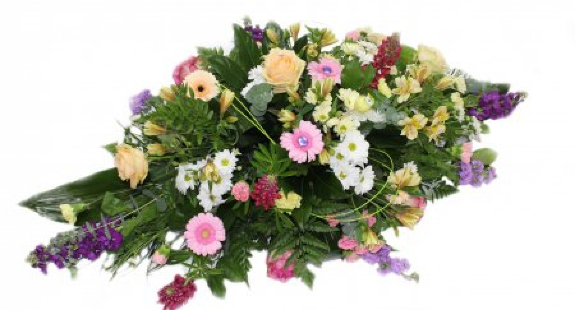 Funeral Spray Pink Pats Flowers